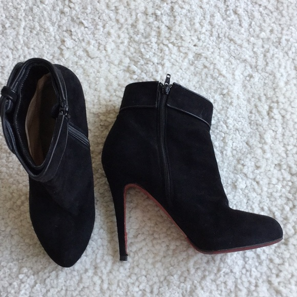 official photos 608b7 1e95e Christian Louboutin Booties